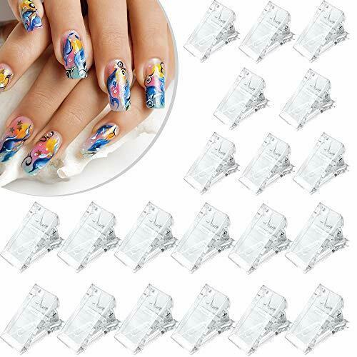 20 Pièces Pinces à ongles Polygel Transparent Pinces à ongles en gel Pinces à…  Price : 21.17  Ends on :   Voir sur eBay   …