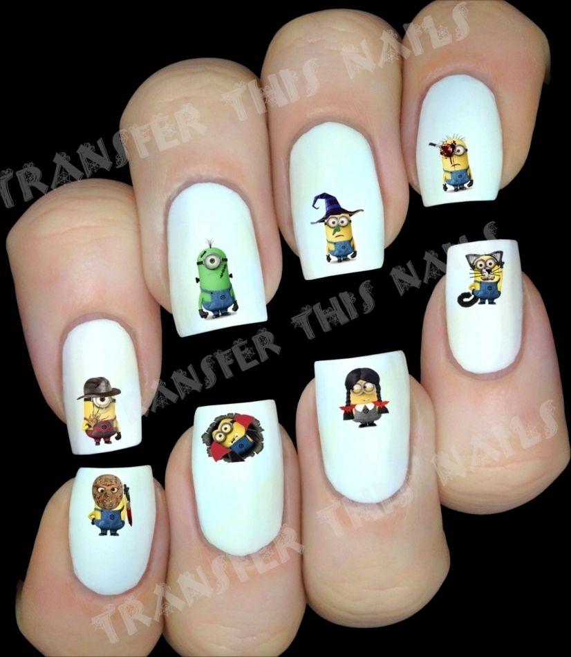 MINION moi moche et méchant horreur Stickers pour ongles manucure nail art  Price : 10.00  Ends on :   Voir sur eBay   …