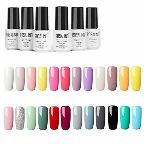 ROSALIND Lot Vernis Semi Permanent 24 Couleur Gel Pour Les Ongles en Gel UV N…  Price : 56.66  Ends on :   Voir sur eBay   …